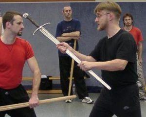 Übung mit Jörg Bellinghausen