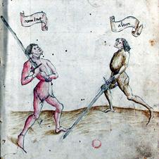 Seite des Codex Danzig