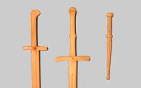 Holzschwerter