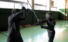 Training mit dem Langen Schwert