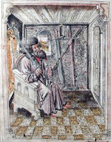 Zeichnung von Johannes Liechtenauer
