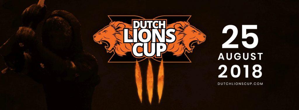 Banner Dutch Lions Cup 2018