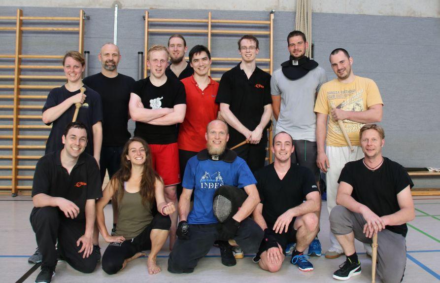 Gruppenfoto Seminar Ingulf Kohlweiss
