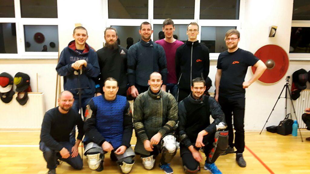 Gruppenfoto Ochs Teilnehmer Gladiatores Tournament V