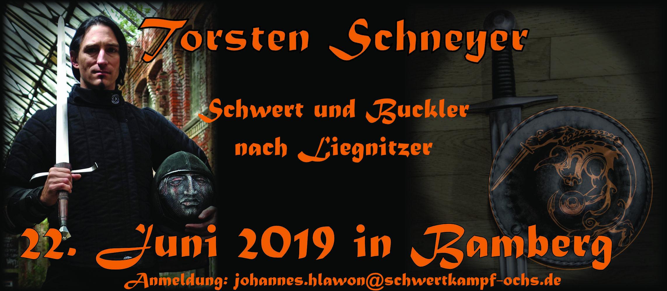"""Seminar """"Schwert & Buckler nach Liegnitzer"""""""