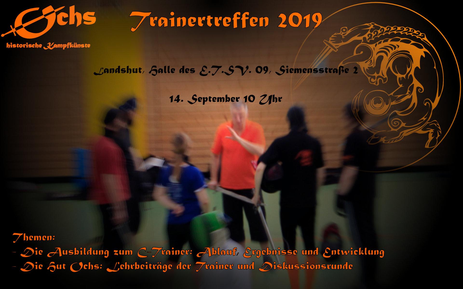 Ochs-Trainertreffen 2019