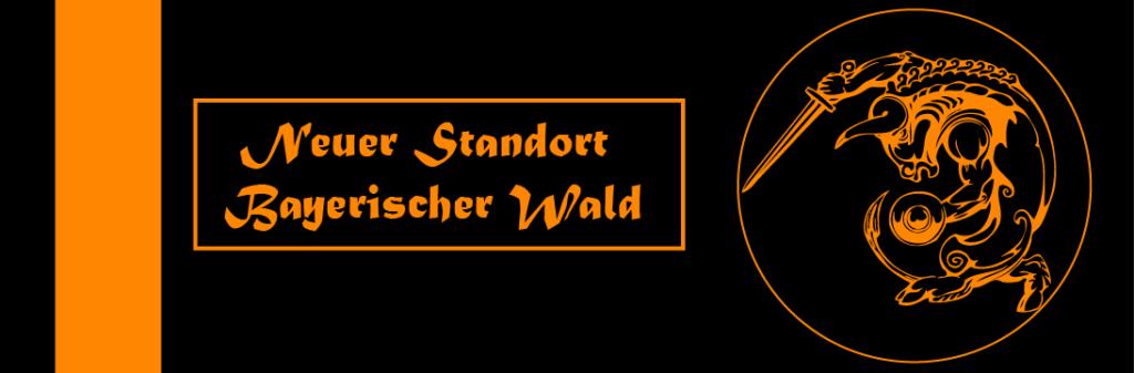 Banner Neuer Standort Bayerischer Wald