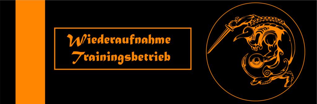 Banner Wiederaufnahme Training